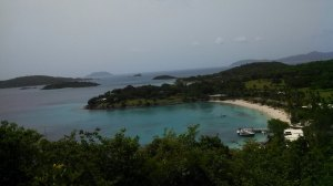 An overview of Caneel Bay, St. John, VI